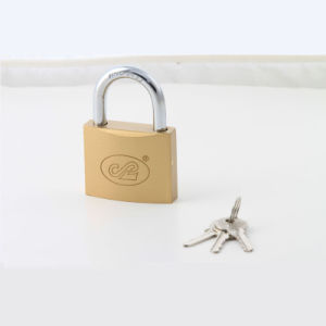 Imitate Brass Arc Type Padlock (brass painted finishing) pictures & photos