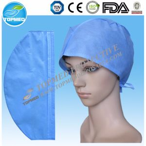 Tie-on Surgical Caps Disposable SMS Surgical Hats pictures & photos