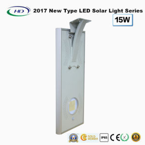 2017 New Type All-in-One Solar LED Garden Light 15W pictures & photos