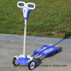 Fore Wheel Mini Plastic Child Scooter Cheap for Sale pictures & photos