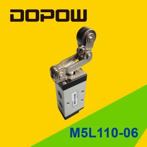 M5pl110-06 M5 Latching Manual Mechanical Valve 2 Position 5 Way pictures & photos