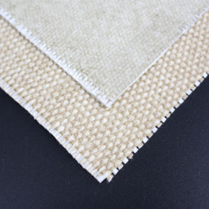 Texturized E-Fiberglass Yarn 24oz Vermiculite Coated Fiberglass Cloth pictures & photos
