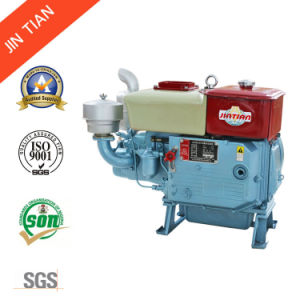 Single Cylinder Four Stroke Diesel Engine (ZS195 long tank) pictures & photos