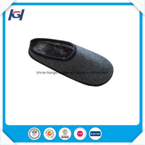 Cheap Wholesale Daily Use Mens Winter Warm House Slippers pictures & photos