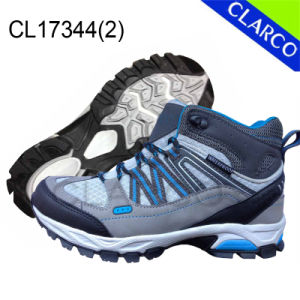 Women Sports Hiking Safety Outdoor Shoes with Rubber Sole pictures & photos