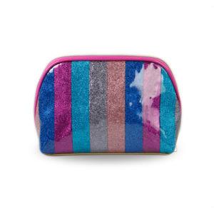 Colorful Rainbow Design Cosmetic Bag Fashion Makeup Bag
