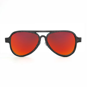 Cheap Best Material Custom Promotional Own Logo UV400 Carbon Fiber Sunglasses pictures & photos