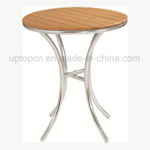 Round Outdoor Table with Solid Plywood Table Top (SP-AT324) pictures & photos