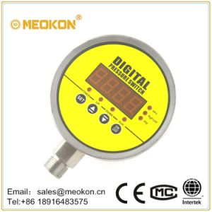MD-S925e Digital Display Electric Contact Pressure Gauge pictures & photos