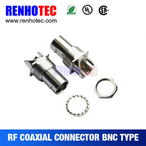 High Frequency Range BNC Female Right Angle Board Mount Connector pictures & photos