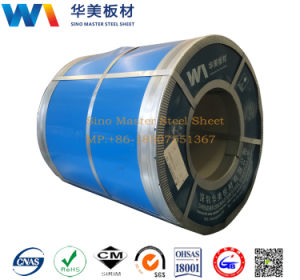 PPGI Prepainted Corrugated Steel, Coating Prepainted PPGI Color Coated Cold Dipped Galvanized Steel Coil pictures & photos