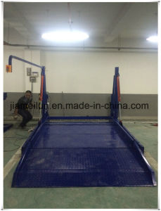 Double Hydraulic Smart Car Parking Lifts Tilting Two Post Auto Lifts pictures & photos