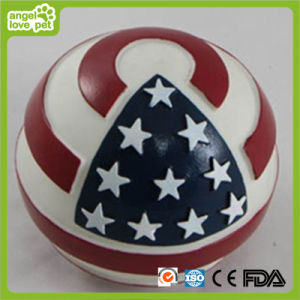 Dog American Flag Ball Pet Toy pictures & photos