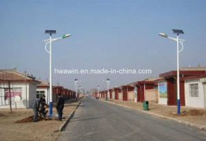 6m Pole 20W LED Solar Street Light for Remote Area Lighting pictures & photos
