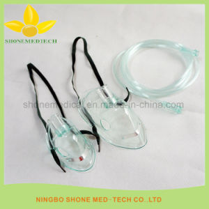 Health & Medical Disposable Simple Oxygen Mask with Tube pictures & photos