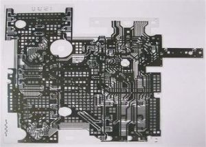 Custom Made Flexible Printed Circuit Board Gloss 25mA - 100mA, High Reliability pictures & photos