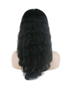"8""-26"" Brazilian Virgin Hair Deep Wave Lace Front Wig pictures & photos"