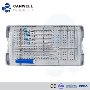 Surgical Instruments Set for Pedical Screw Hospital Equipment pictures & photos