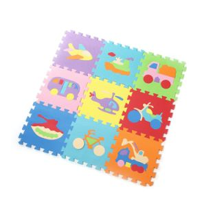 Environmental Arabic Number Baby Play Floor Puzzle Mat, for Baby Use pictures & photos