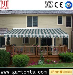 Strong Folding Arm Awning/Folding Arm Retractable Motorized Awnings pictures & photos