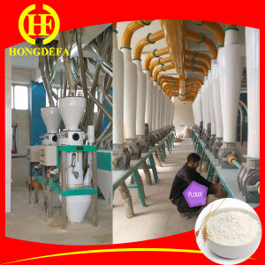 Algeria Steel Structure Wheat Flour Milling Machine pictures & photos