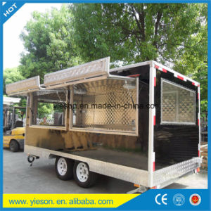 Ice Cream Cart Hot Dog Mobile Food Trucks pictures & photos