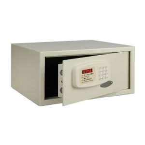 Automatic Lockout Motorized Locking System 3~6 Digits Hotel Room Safes pictures & photos