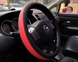 Custom Cheap Colorful Silicone Car Steering Wheel Cover pictures & photos