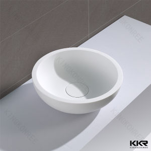 Special Design Solid Surface Bathroom Counter Top Wash Basin pictures & photos