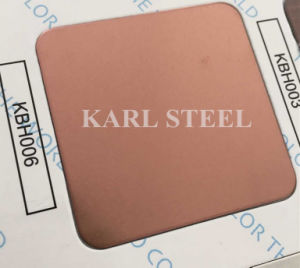 High Quality 304 Stainless Steel Color Ket010 Etched Sheet pictures & photos