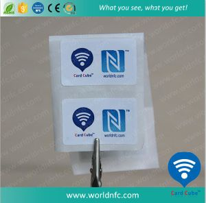 Cheap RFID Ntag213 Passive NFC Paper Sticker pictures & photos