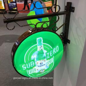 Wall Mounted Fashion Illuminated Signage LED Light Box pictures & photos