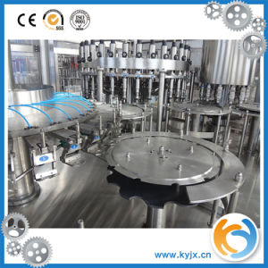 Automatic Carbonated Drink 3-in-1 Filling Machinery pictures & photos