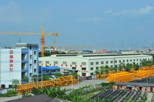 Qtz80 (TC6013) 6ton Max Load 60m Boom Contruction Equipment Tower Crane pictures & photos