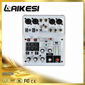 2017 New Professional Audio Mixer Lk06fx Mixing Console pictures & photos