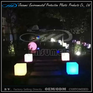 LED Illuminated Cube Chair Outdoor Furniture for Party Events pictures & photos