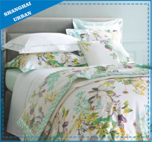 3 Piece Scallop Pattern Cotton Comforter Set pictures & photos