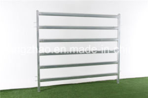 Galvanized Cattle Yards Panel with Gate pictures & photos