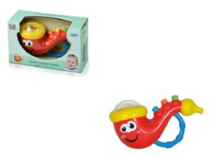 Kids Plastic Educational Musical Cartoon Sachs Baby Toy pictures & photos