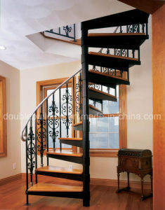 Black Stunning Victorian Spiral Stairs pictures & photos