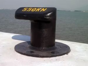 Marine Mooring Tee Head Bollard/ Cast Steel/Iron Bollard pictures & photos