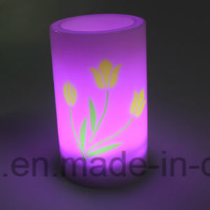 Wedding Ornamental Blinking Battery Operated Imitation Plastic LED Candles pictures & photos