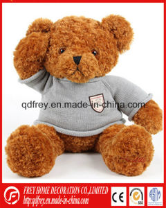 Hot Sale Brown Teddy Bear with T-Shirt pictures & photos