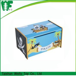 Wholesale Price Kids Wooden Toy Box pictures & photos