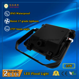 3 Years Warranty 10W IP65 Outdoor LED Flood Light with 110lm/W pictures & photos