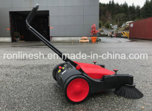 Hand-Push Sytle 92cm Wide Cordless Manual Sweeper/Floor Sweeper/Residue Sweeper/Dust Sweeper pictures & photos