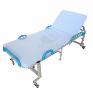 AG-Fb001 Ce&ISO Approvedi Iron Frame Hospital Folding Bed pictures & photos