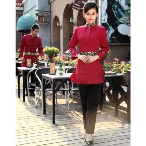 Custom Waiter Uniform for Hotel Western Restaurant pictures & photos