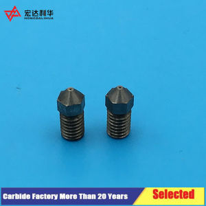 Long Life Carbide 3D Printer Nozzle with 0.4mm or 0.6mm/M6 pictures & photos