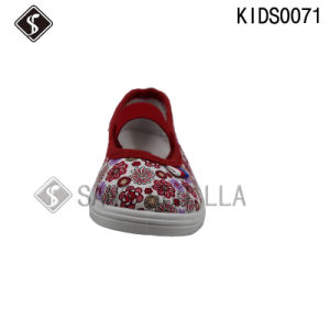 Kids Canvas Shoes, Kids Print Shoes, Walking Shoes, Kids Low-Cut Shoes, Injection Shoes pictures & photos